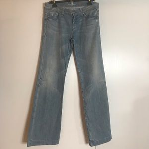 7 FOR ALL MANKIND Women's Dojo Flare Jeans Sz 32